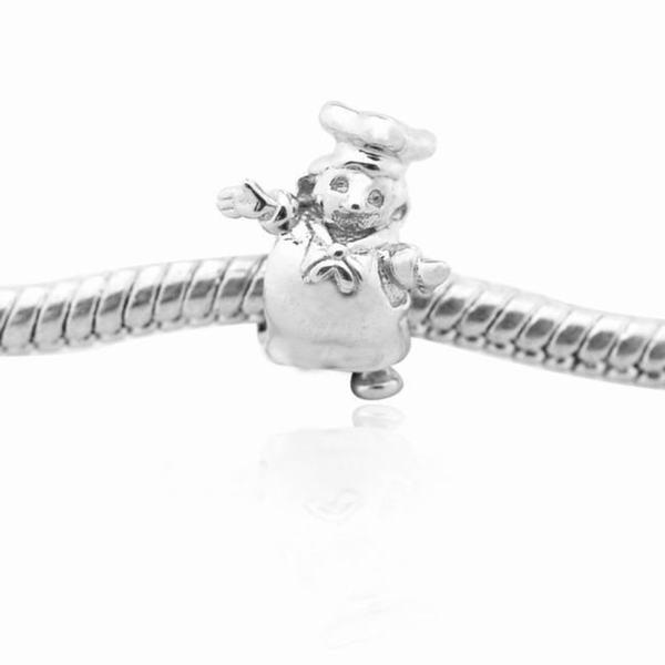 De Buman Sterling Silver Cook Charm Bead