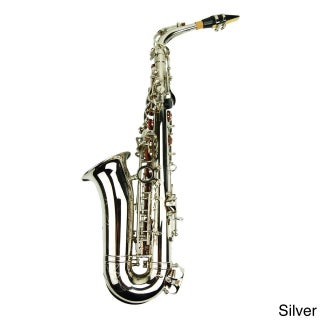Euro Designed E-Flat Alto Color Saxophone and Case