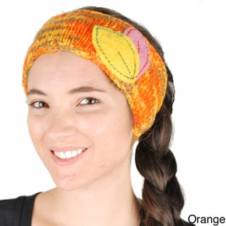 Handmade Robin's Winter Headband (Nepal)