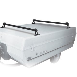 Swagman White Steel Pop-up Trailer Rack