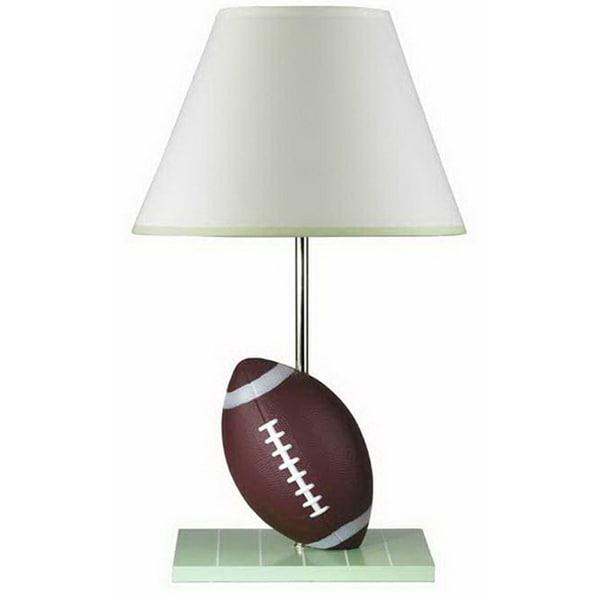 Cal Lighting Football Table Lamp