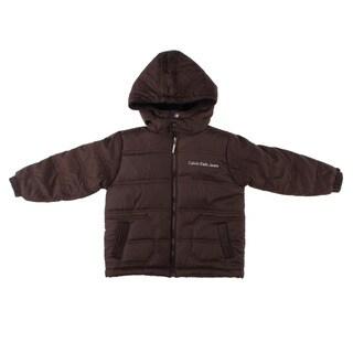 Calvin Klein Boy's Solid Puffer Jacket