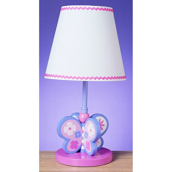 Cal Lighting Butterfly Design Table Lamp