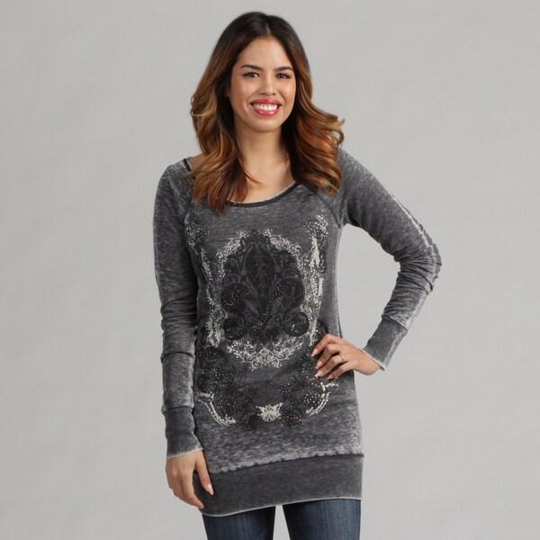 Tabeez Vintage Distressed Pullover