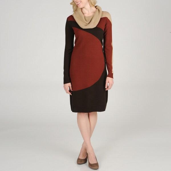 Lennie For Nina Leonard Women S Colorblock Sweater Knit