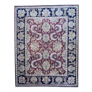 Herat Oriental Indo Hand-knotted Mahal Wool Rug (8' x 10')