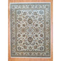 Herat Oriental Indo Hand-knotted Mahal Wool Rug (8' x 10') - 8' x 10'