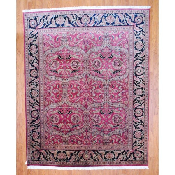 Shop Handmade Herat Oriental Indo Sarouk Wool Rug (India