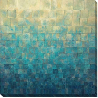 Janelle Kroner 'Cascade' Canvas Art