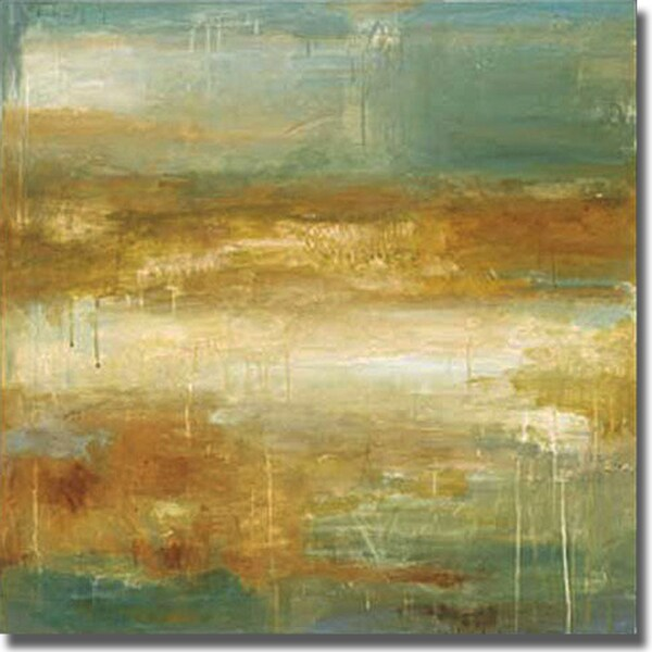 Wani Pasion 'Golden Possibilities' Canvas Art