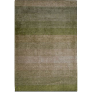 Jovi Home Nostalgia Hand-tufted Green Rug (5' x 8')