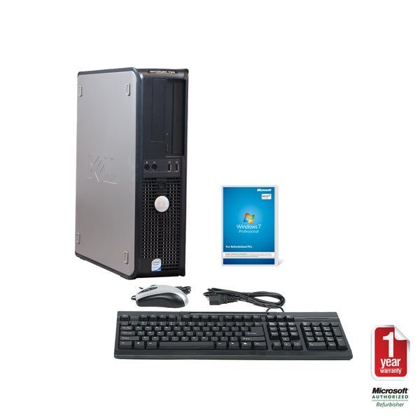 Dell Optiplex 760 Intel Core 2 Duo 3.16GHz CPU 4GB RAM 1TB HDD Windows 10 Pro Desktop Computer (Refurbished)