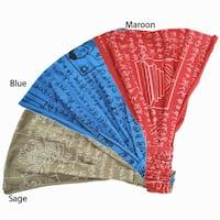 Handmade Organic Cotton Mantra Headband (Nepal)