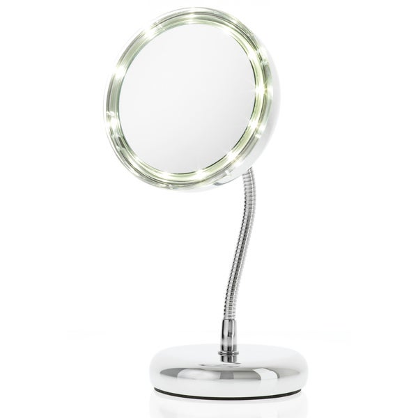 Danielle LED Goose-neck Travel Mirror