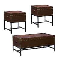 Carbon Loft Blodgett Trunk Table Collection