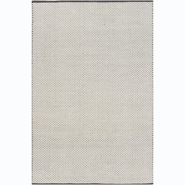 Artist's Loom Hand-woven Contemporary Geometric Rug (5' x 7'6) - 5' x 7'6