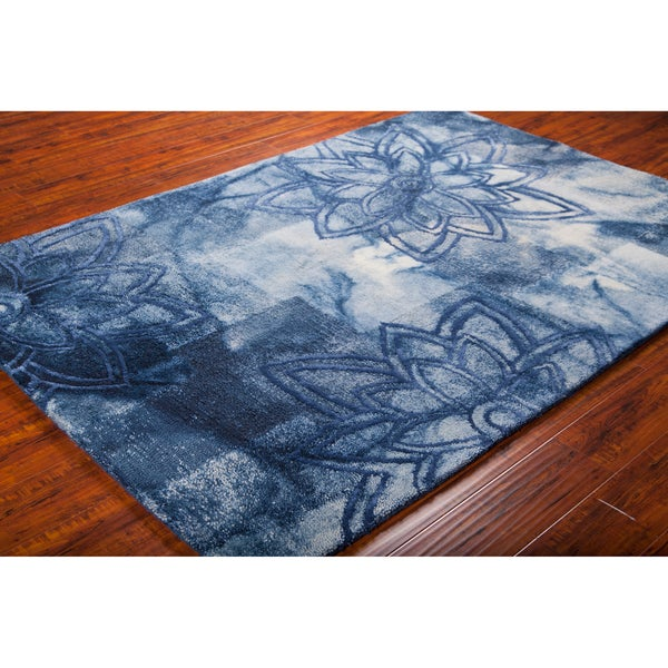"Mandara Hand-Tufted Transitional Wool Area Rug (5' x 7'6"")"