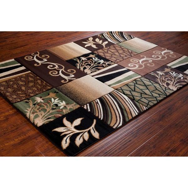 Artist's Loom Indoor Transitional Floral Rug - Multi