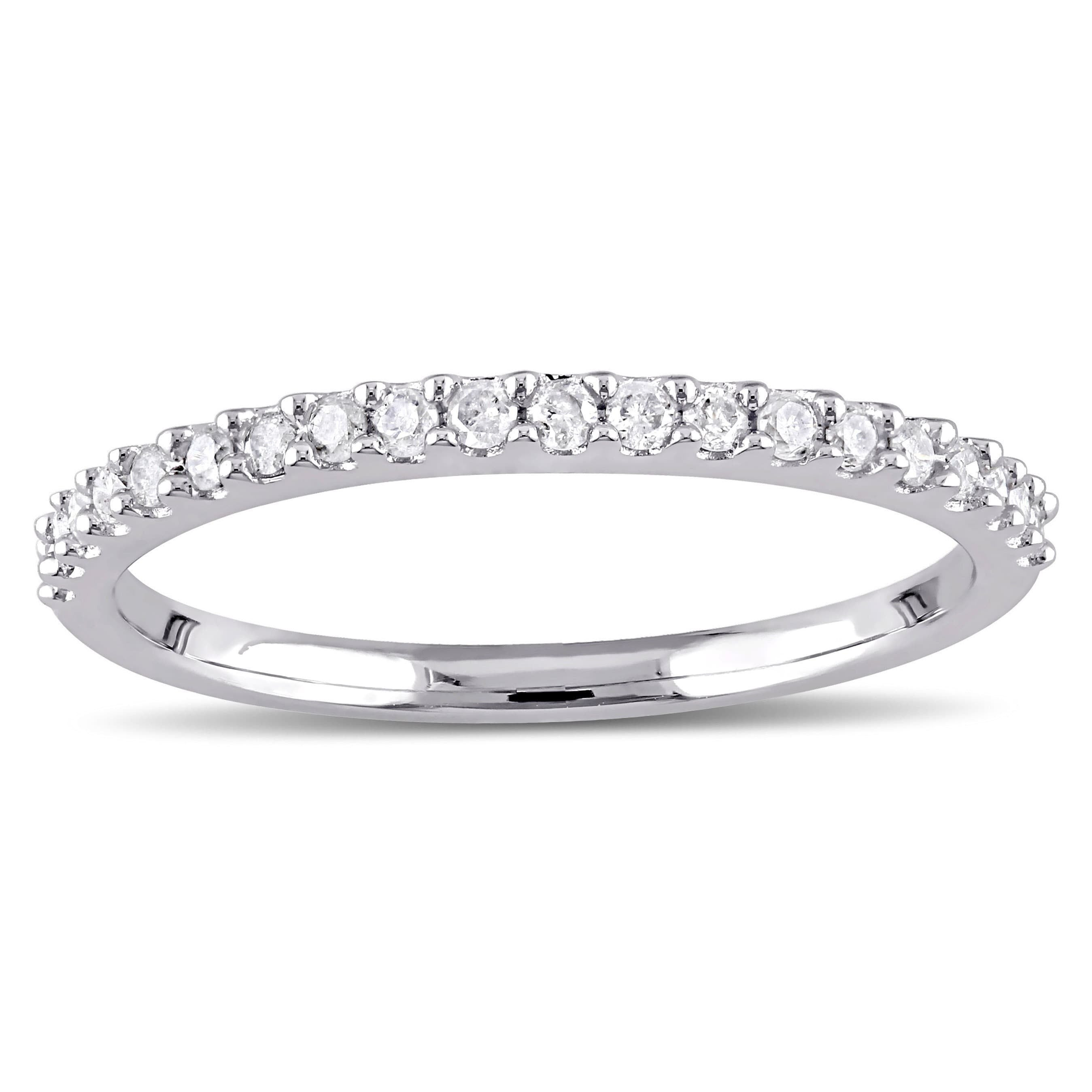 Jewelry & Watches Latest Collection Of Womens 0.15 Ct Classic Eternity Wedding Band Ring White Gold Plated Size 6-9 Engagement & Wedding