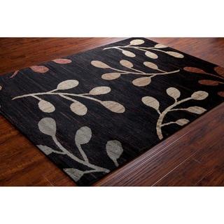Artist's Loom Indoor Transitional Floral Rug