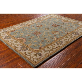 Artist's Loom Hand-tufted Traditional Oriental Wool Rug
