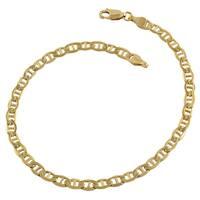Fremada 14k Yellow Goldtone Mariner Link Bracelet (8.5 inch)