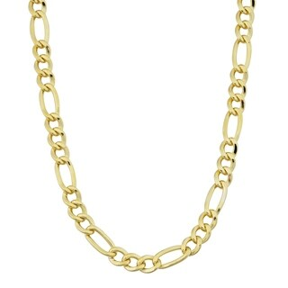 Fremada 14k Yellow Gold-filled Figaro Link Chain Necklace (18-36 inches)|https://ak1.ostkcdn.com/images/products/7310702/P14780962.jpg?_ostk_perf_=percv&impolicy=medium