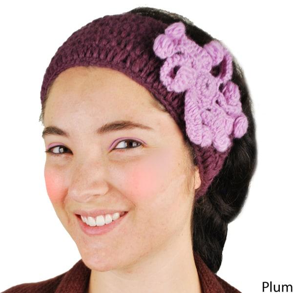 Marigold Knitted Woolen Headband