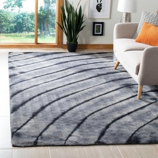 Safavieh Hand-knotted Expressions Grey Wool Rug