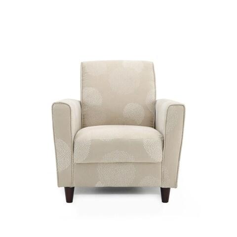 Porch & Den Corktown Leverette Sunflower Accent Chair