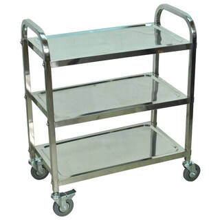 Stainless Steel Cart 3 Shelf (4 options available)
