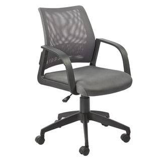 Favorite Finds Grey Mesh Back Office Chair
