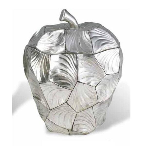 Silver 11-inch High Apple Box