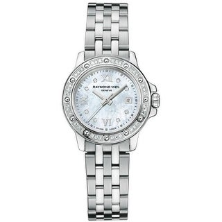 Raymond Weil Women's Stainless Steel Tango Diamond Watch