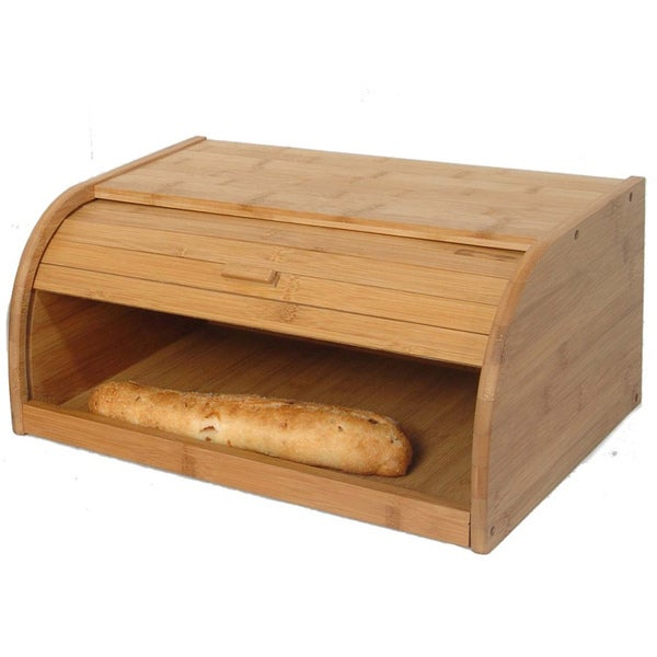 Hand Crafted Eco-Friendly Bamboo Bread Box