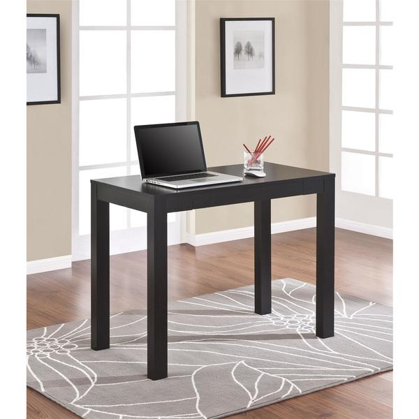 Ameriwood Home Parsons Black Oak Laptop/ Writing Desk