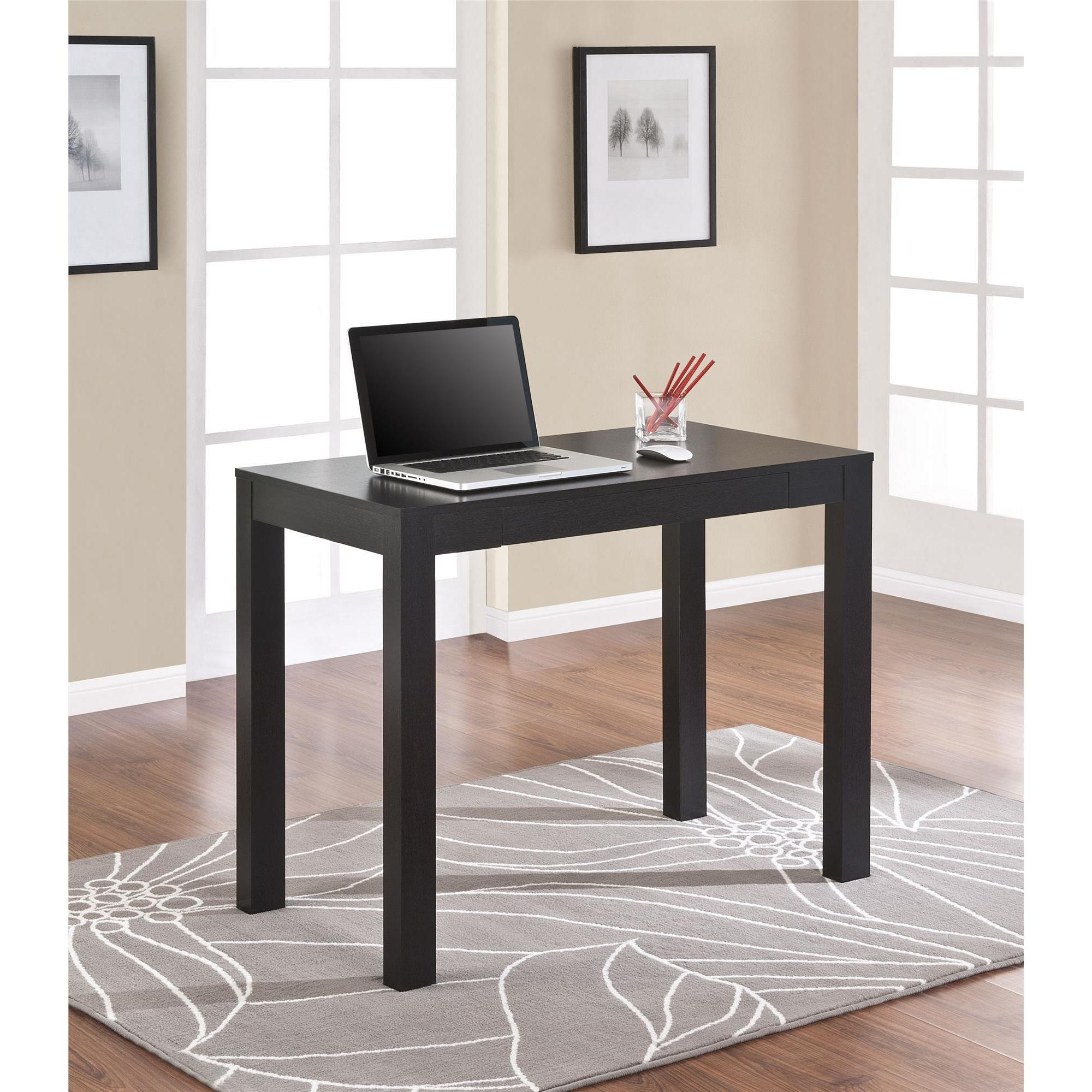 Altra Furniture Avenue Greene Jack Black Oak Desk with Dr...