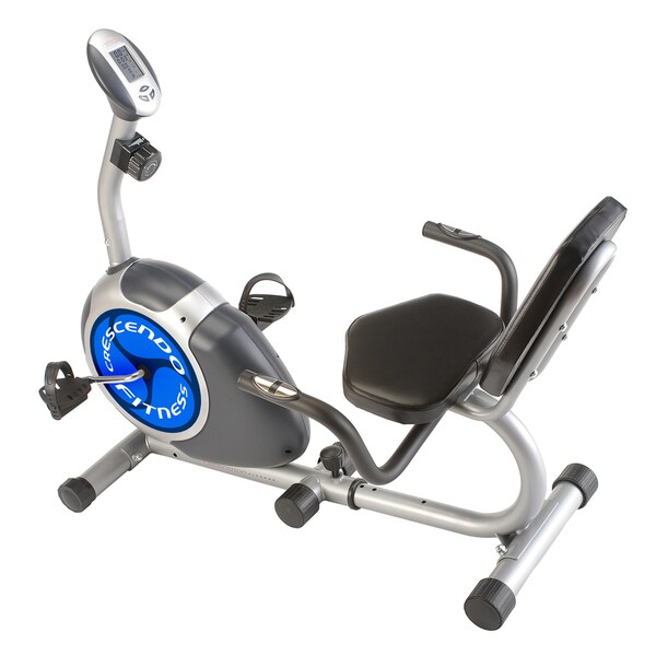 Lion Fitness Mag Resistance Recumbent Exercise Bike