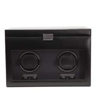 WOLF Heritage Black Faux Leather Module 2.1 Double Watch Winder|https://ak1.ostkcdn.com/images/products/7315898/P14785310.jpg?impolicy=medium