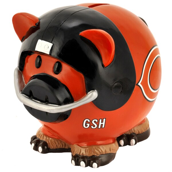 NFL Large Thematic Resin Piggy Bank