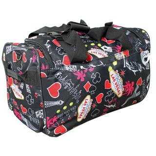6037147480bb Quick View.  45.49. Rockland Deluxe 22-inch Black Las Vegas Carry-On Rolling  ...