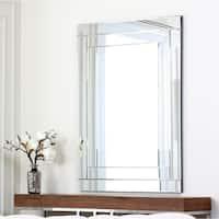 Abbyson Fairmont Rectangle Wall Mirror