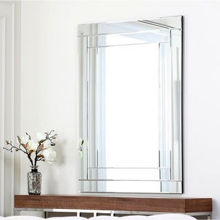 Abbyson Fairmont Rectangle Wall Mirror