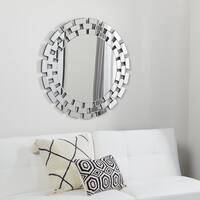 Abbyson Devon Round Wall Mirror