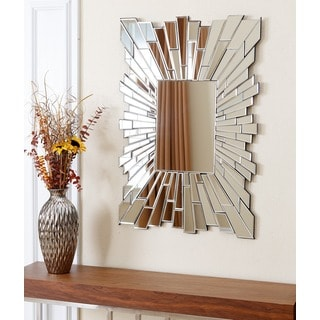 Abbyson Empire Rectangle Wall Mirror
