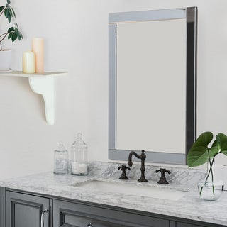 Abbyson Omni Rectangle Wall Mirror