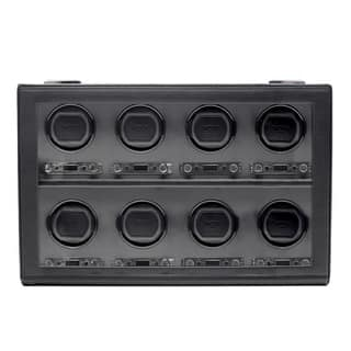 WOLF Viceroy Black Faux Leather 8-piece Watch Winder|https://ak1.ostkcdn.com/images/products/7315980/P14785348.jpg?impolicy=medium