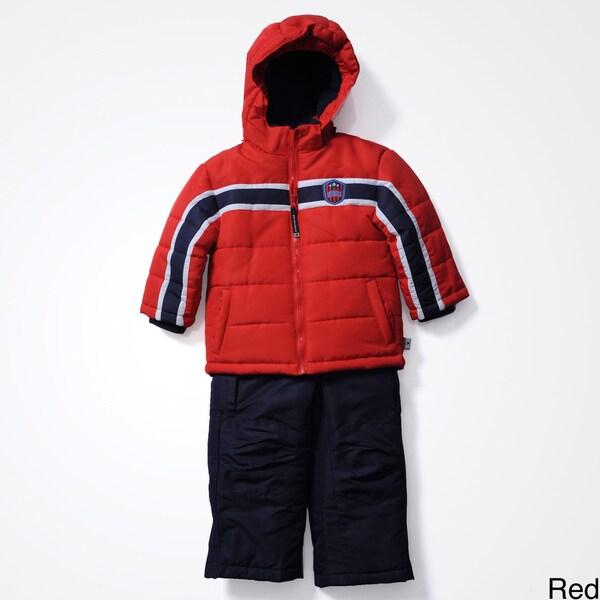 Rothschild Boys 4-7 Badge 2pc Snowsuit