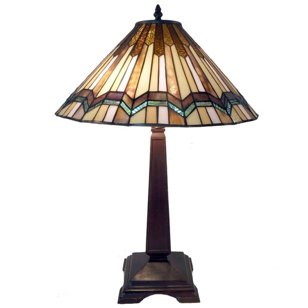 Tiffany-style Arrow Head Table Lamp