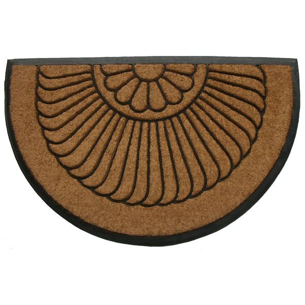 Tuff Brush Coir Rubber Door Mat Shell (24 x 36 inches)